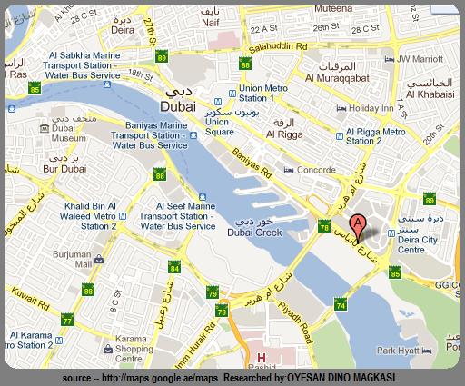 Baniyas Road Dubai UAE – Uae Map Road