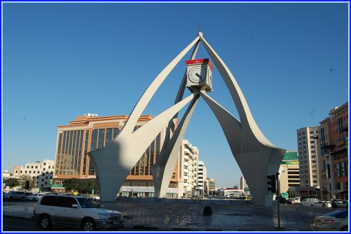 Dubai Clock Tower Oye 6 Jpg